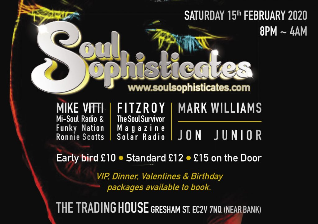 Feb 15 Soul Sophisticates